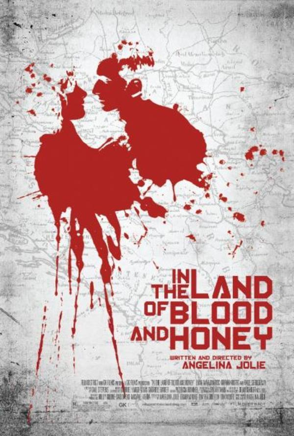 """In the Land of Blood and Honey"" poster"