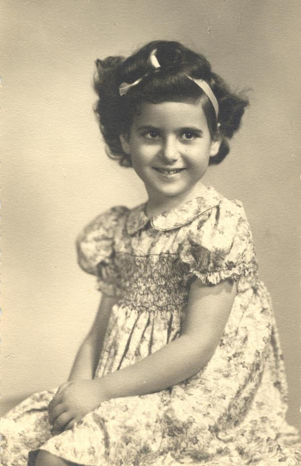 Jean Naggar as a child
