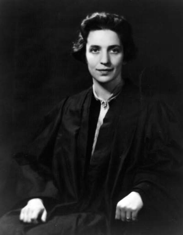 Justine Wise Polier as a Young Judge