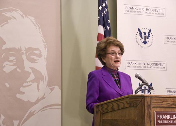 Judith Kaye, Presidential Libraries Conference, Hyde Park, New York