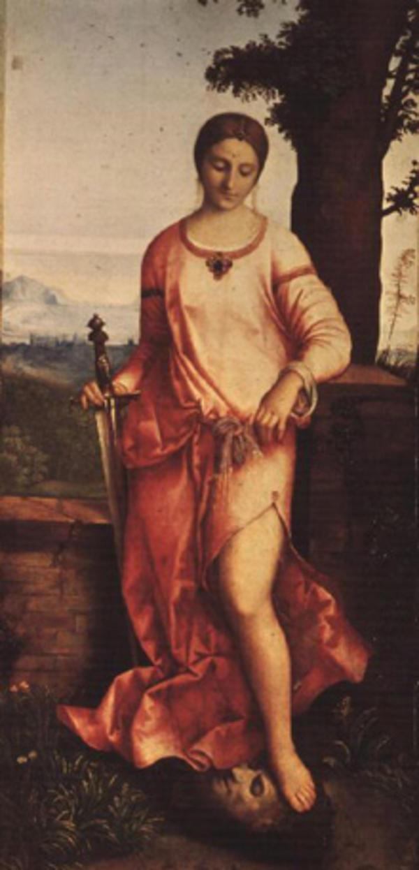 Judith and Holofernes and Sword photo