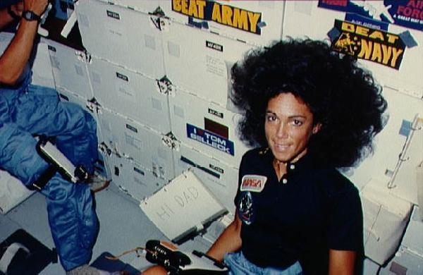 Judith Resnik in space