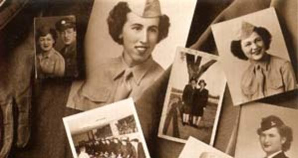 Jewish Women in the Military memory board
