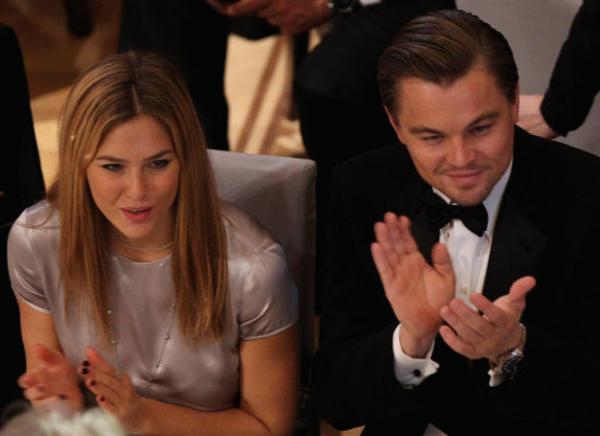Leo DiCaprio and Bar Refaeli