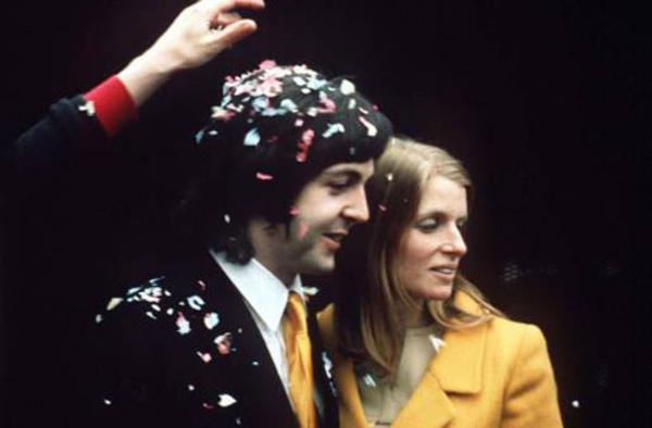 Linda Eastman and Paul McCartney - 1969
