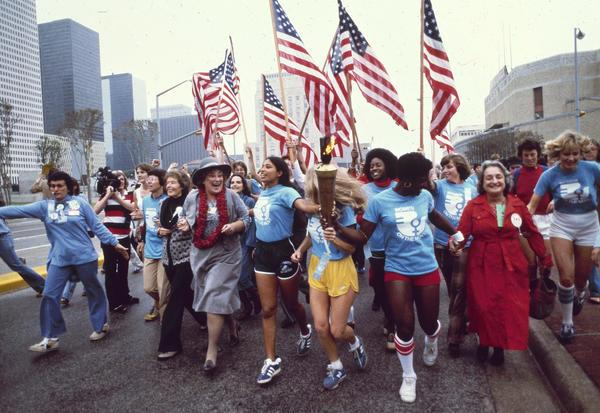 National Women's Convention March, November 1977