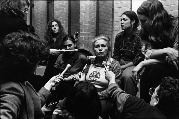 Grace Paley and Reporters