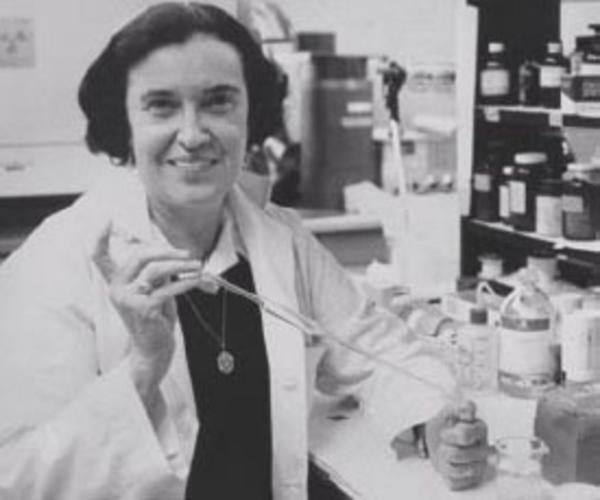 Rosalyn Yalow in the Laboratory, 1977