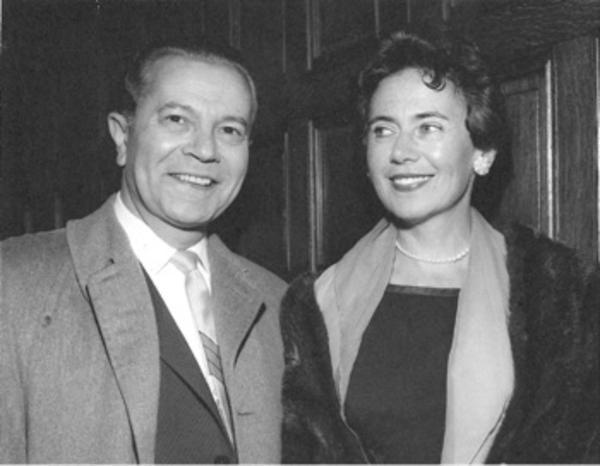 Ruth Nussbaum and Husband Max Nussbaum, circa 1960s