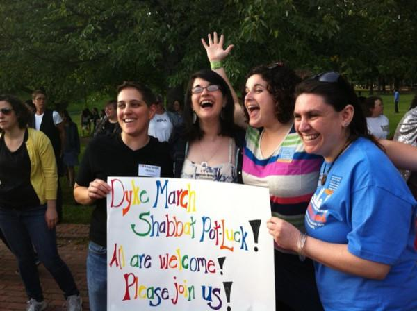Shabbat Dyke March