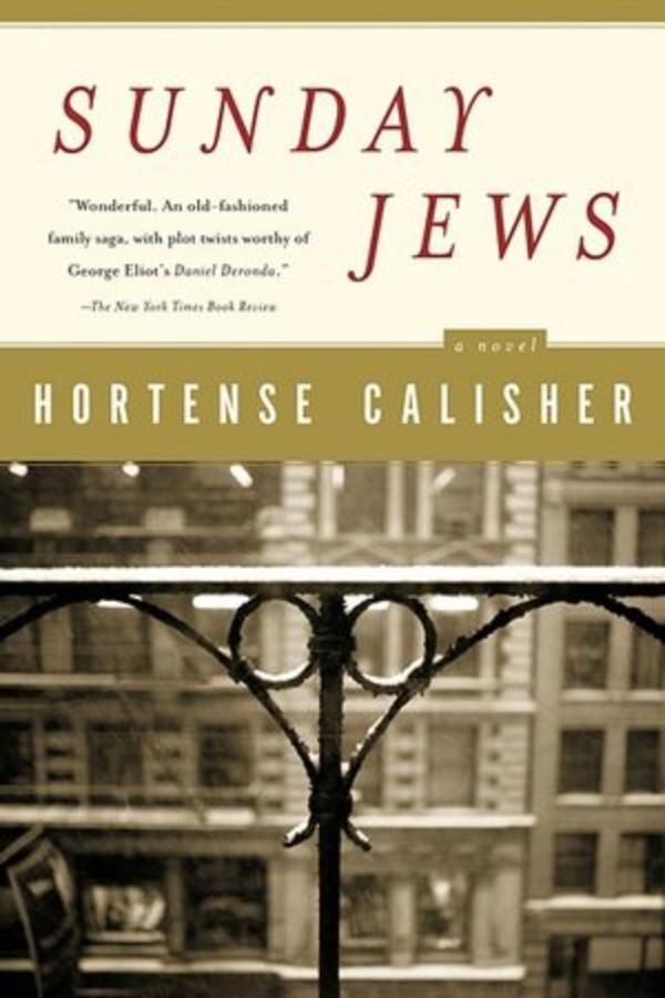 """Sunday Jews"" Book Cover by Hortense Calisher, 2002"