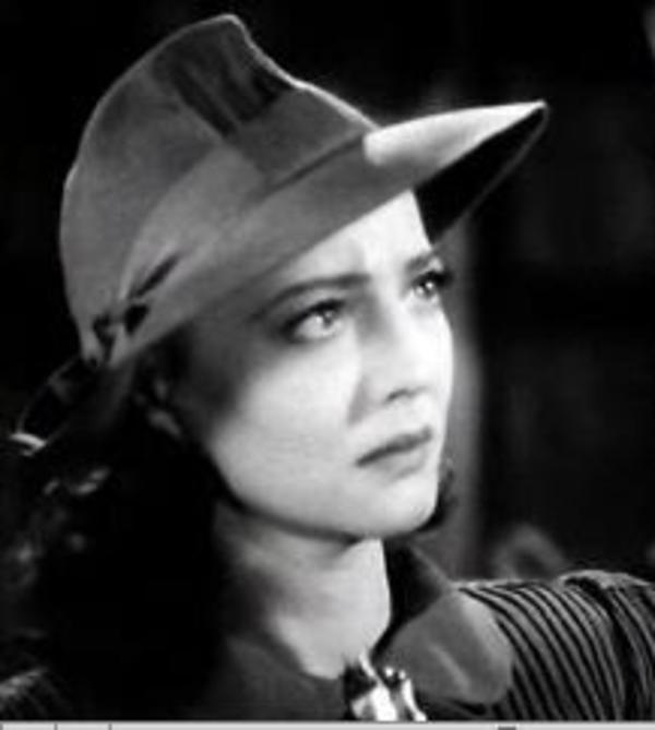 "Sylvia Sidney in ""The Wagons Roll at Night,"" 1941"