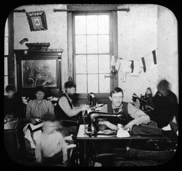 Tenement Sweatshop circa 1900