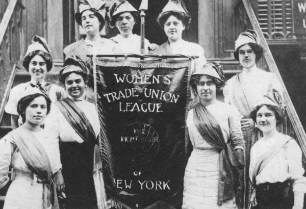 Members of the Women's Trade Union League (WTUL) circa 1910