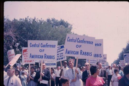 Central Conference of American Rabbis at the March on Washington, August 28, 1963