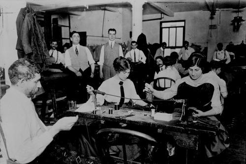 Small Garment Factory circa 1910