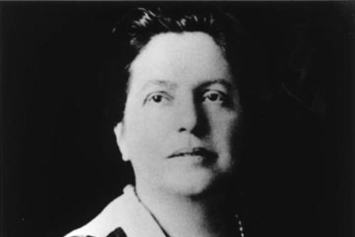 Portrait of Lillian Wald